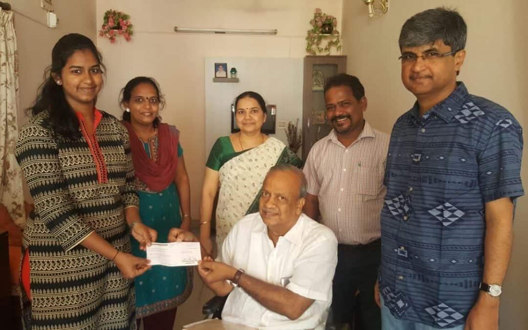 Scholarship for Supreetha Anand Byatnal